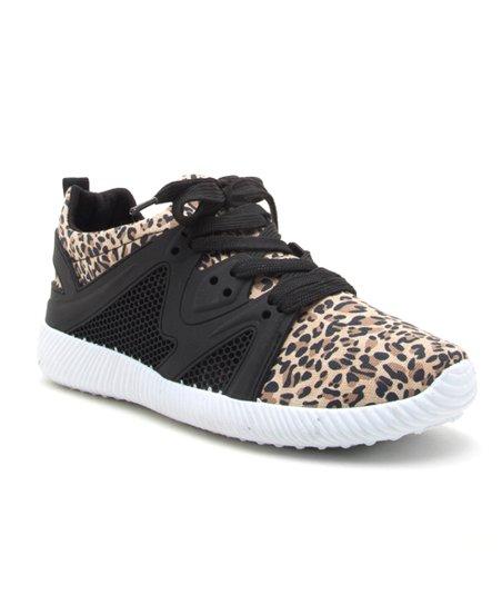 Qupid Leopard Nacara Sneaker - Women