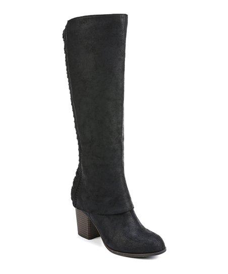 2f4c1d7b758 Fergalicious by Fergie Black Tender Wide-Calf Boot - Women