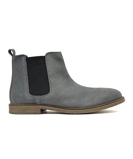 3dd5e169d9a Joseph Abboud Gray Daniel Leather Boot - Men
