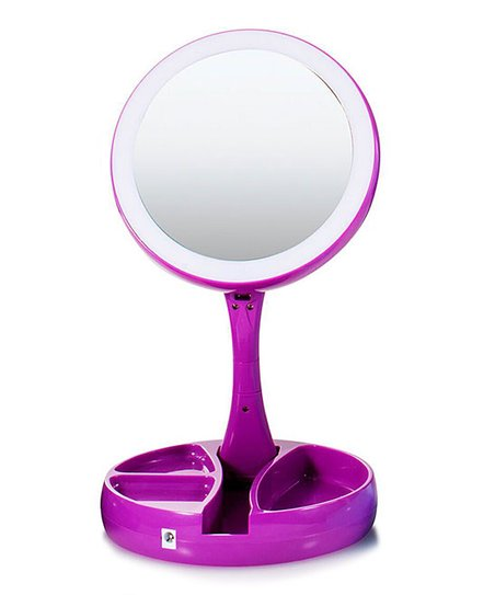 Purple My Foldaway Mirror Zulily