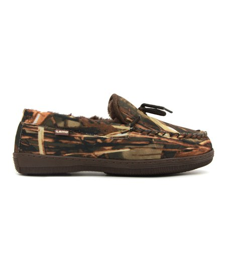 75fc61c16fbf7 Apres by Lamo Brown Camouflage Moccasin - Men | Zulily
