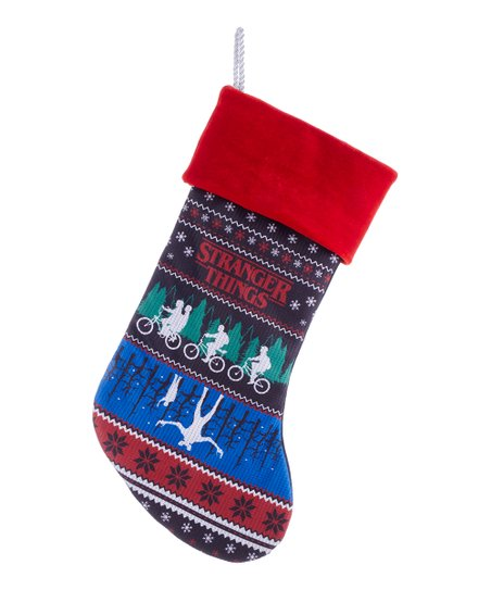 Stranger Things Ugly Christmas Sweater.Stranger Things Ugly Christmas Sweater Stocking