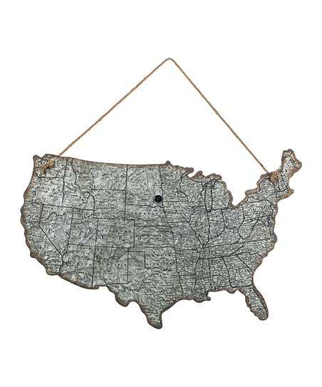 United States Map Wall Decor.Sullivans United States Map Wall Decor Zulily