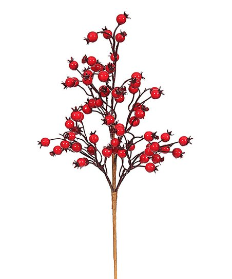Vickerman Company 18 Red Berry Spray Set Of Six Best Price And Reviews Zulily