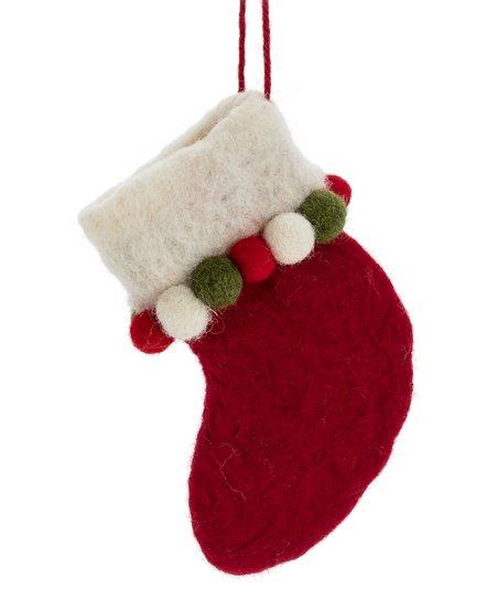 love this product Pom-Pom Stocking Wool Ornament 493b7b2ac