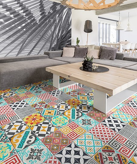 Love This Product Patterned Vinyl Floor Tiles