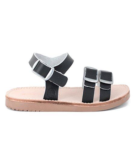 d71820237 Freshly Picked Ebony Rockaway Leather Sandal - Girls