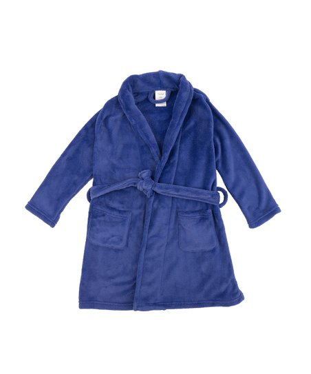 657f496ae855 love this product Royal Blue Fleece Shawl Collar Robe - Toddler   Boys