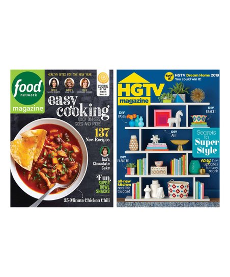 Mailbox Must Haves Food Network Hgtv Magazine Subscription Set