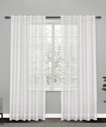Shimmer Sheer Curtain Panel, Shimmer Sheer Curtain Panels