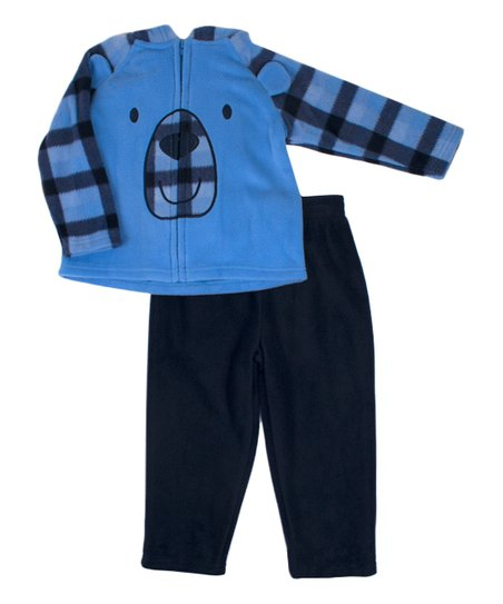 828486cb1683c love this product Blue Polar Fleece Hoodie & Sweatpants Set - Newborn
