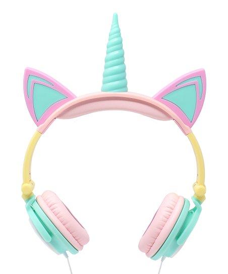 Love This Product Pink Blue Led Unicorn Cat Headphones