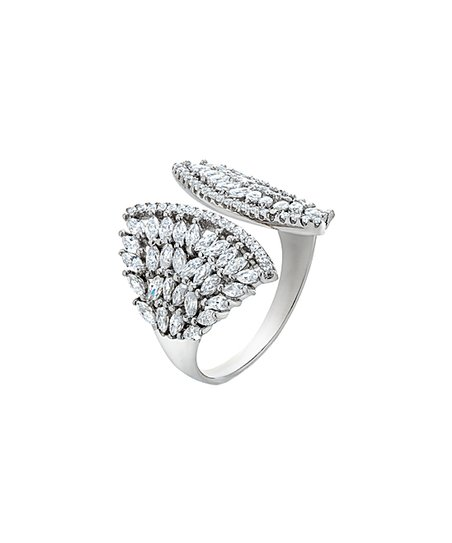 edc1867cf love this product Sterling Silver Marquise-Cut Open Ring With Swarovski®  Crystals