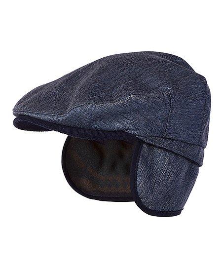 Millymook   Dozer Blue Tyler Ear-Flap Newsboy Cap  910cc26b5f8