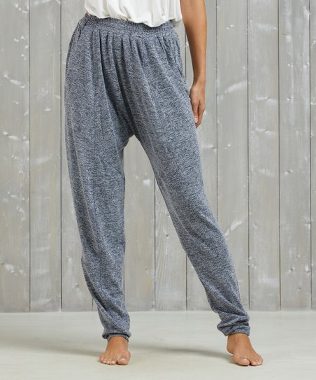 275ccacc8af Simple by Suzanne Betro Heather Gray Harem Pants - Women   Plus