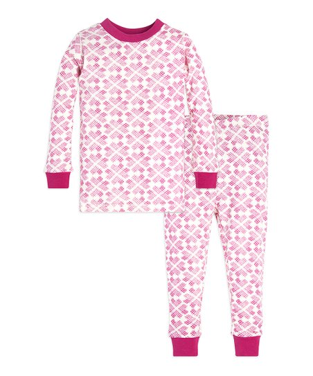 3dbb01a4ecfc Burts Bees Baby Azalea Stitched with Love Pajama Set - Toddler ...