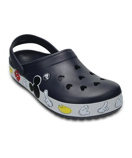 Multi Crocband™ Mickey Mouse Clog