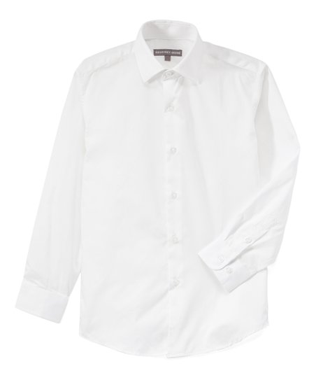 Geoffrey Beene White Button Up