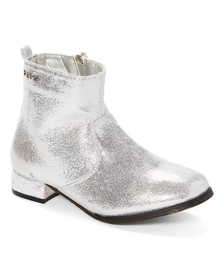 silver boots for girls