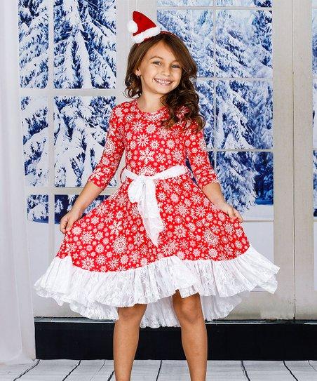 6dd5b1de27d Source https   www.zulily.com p red-white-snowflake-ruffle-hem-a-line-dress -5675-61893721.html