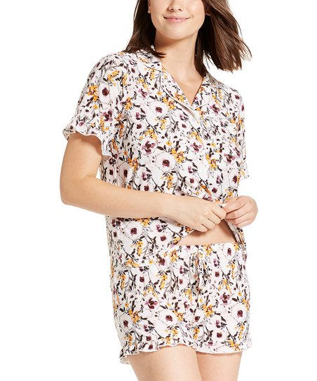 NANETTE Nanette Lepore Coconut Floral Sleep Shorts Set - Women  efab305c3