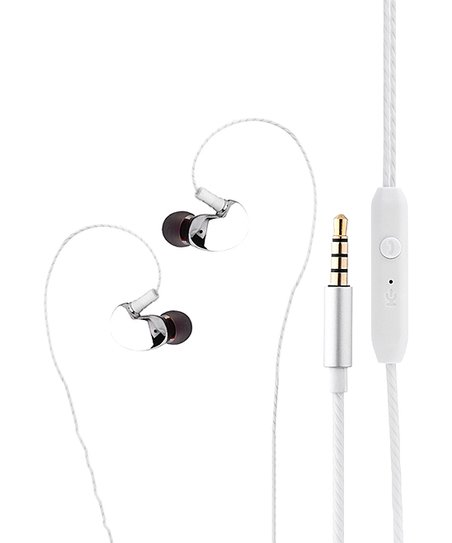 Shou Silver 360° Surround Sound Earbuds