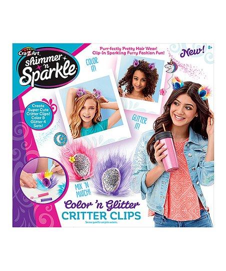 4afb4ca9 Cra-z-art Shimmer & Sparkle Color N Gem Critter Klips Set | Zulily