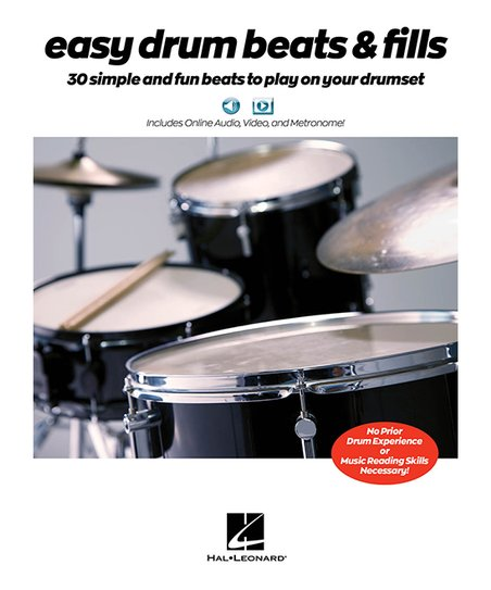 Hal Leonard Easy Drum Beats & Fills Instruction Book | Zulily