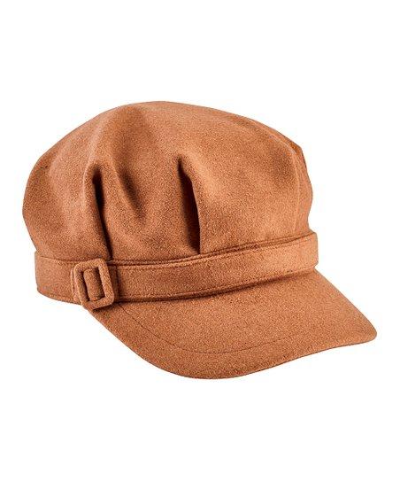 3921671e5a97e San Diego Hat Company Camel Cadet Cap | Zulily