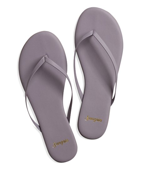 7f71fae71c53bf Sangria Sandals Lilac Breeze Leather Flip-Flop - Women