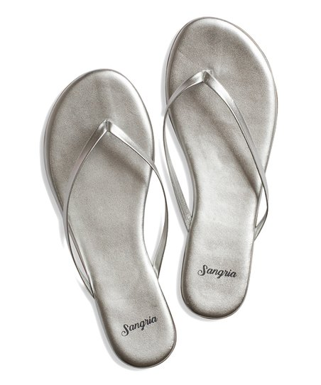 8a9ff3f70d32bf love this product Sterling Silver Leather Flip-Flop - Women