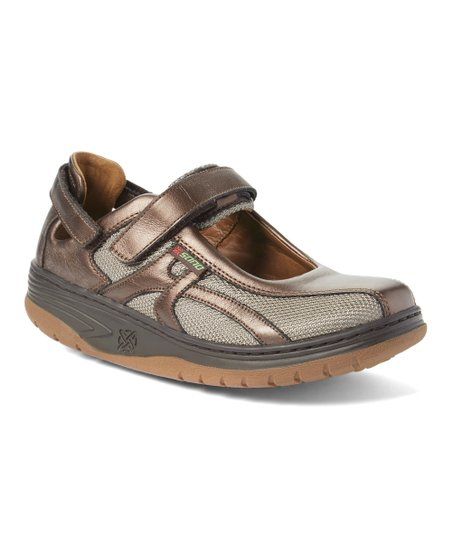 Sano by Mephisto Brown Excess Leather Mary Jane Sneaker - Women  f9f6afbf50