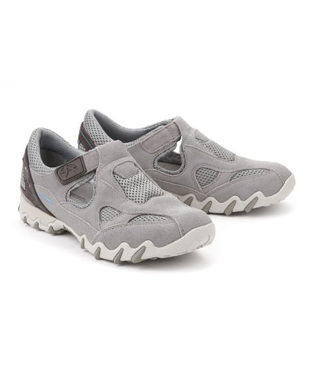 3ff102ebdc6edb Allrounder by Mephisto Light Gray Nana Suede Walking Shoe - Women ...