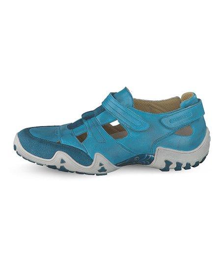 30e10aa129 Allrounder by Mephisto Teal Firelli Leather Walking Shoe - Women ...