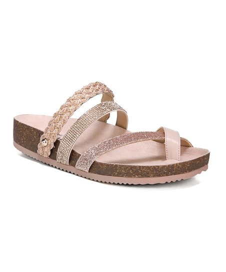 7dca2bc12 Circus by Sam Edelman Gold   Pink Oakley Sandal - Women