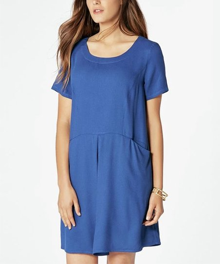 fbb3bec98fe JustFab Cobalt Pocket Swing Dress - Women