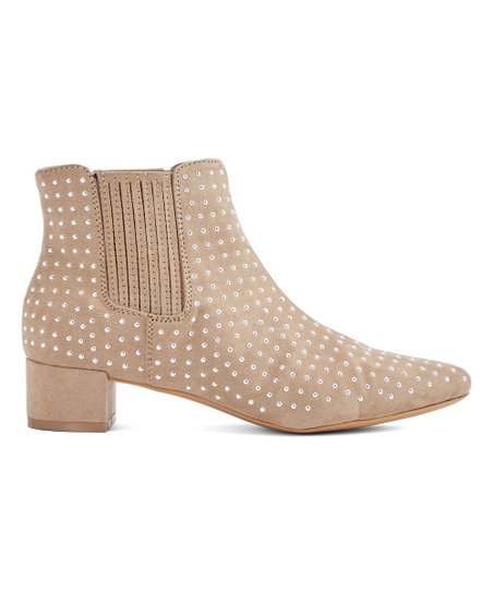037caa96db love this product Taupe Jenna Bootie - Women