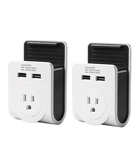 Link2Home Dual USB-Port Power Adaptor - Set of Two  9786f47e5