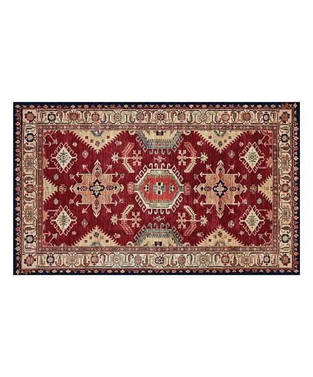 Charmant RUGGABLE Ruby Noor Ruggable Two Piece Washable Accent Rug System