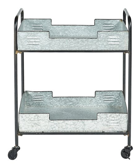 Linon Home Denver Iron Indoor Outdoor Bar Cart Zulily