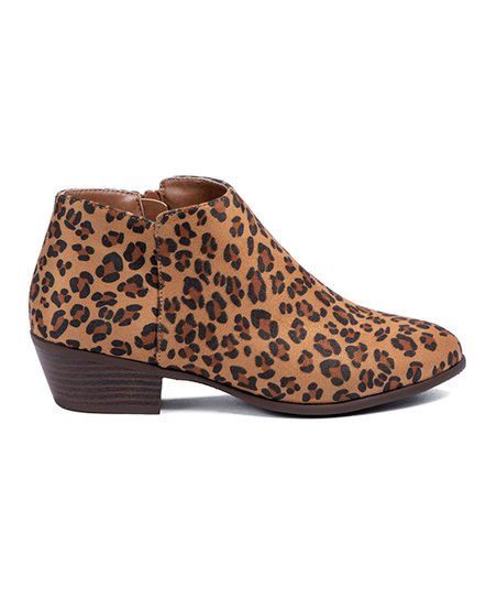 leopard chelsea boots womens