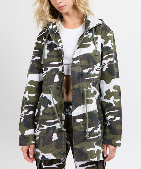 14361f8b5b8 love this product Winter Camouflage Anorak Jacket - Women