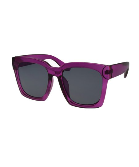 fdf1668dce love this product Purple   Smoke Square Sunglasses