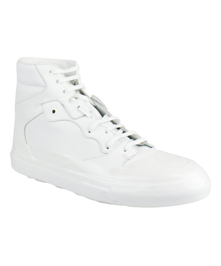 Balenciaga White Leather High Top Sneakers Men Best Price And Reviews Zulily