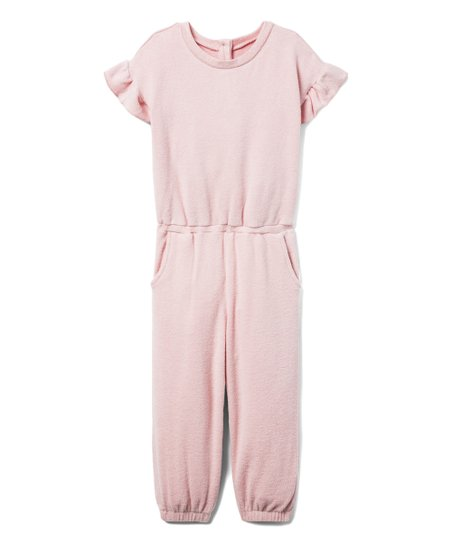 love this product Petal Pink Ruffle-Sleeve Playsuit - Infant   Toddler ac95a9430