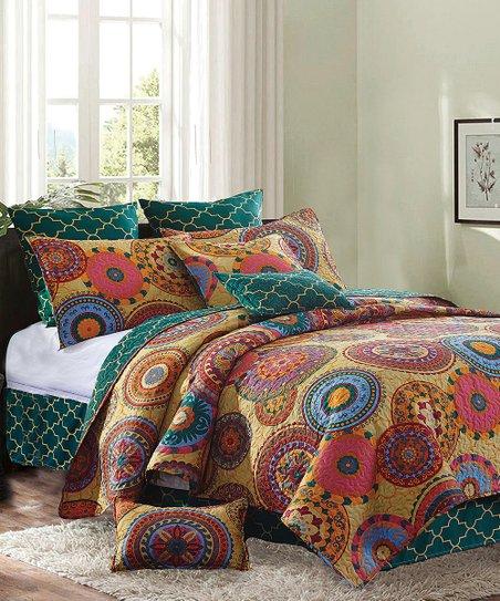 Duke Imports Inc Debra Valencia Jewel, Jewel Tone Bedding
