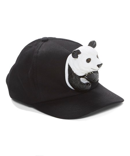 cc8aeea48887d Something Special Black Panda Baseball Cap