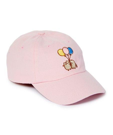 8734cd825b9 love this product Pusheen the Cat Pink Balloon Baseball Cap