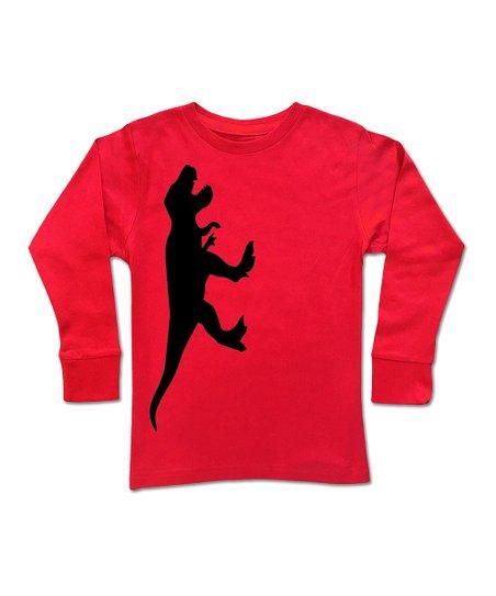 6dcdcda1 love this product Red Dino Run Long-Sleeve Tee - Toddler & Boys