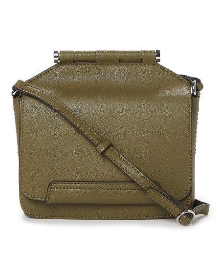 25cc08d396 Danielle Nicole Olive Leather Crossbody Bag | Zulily